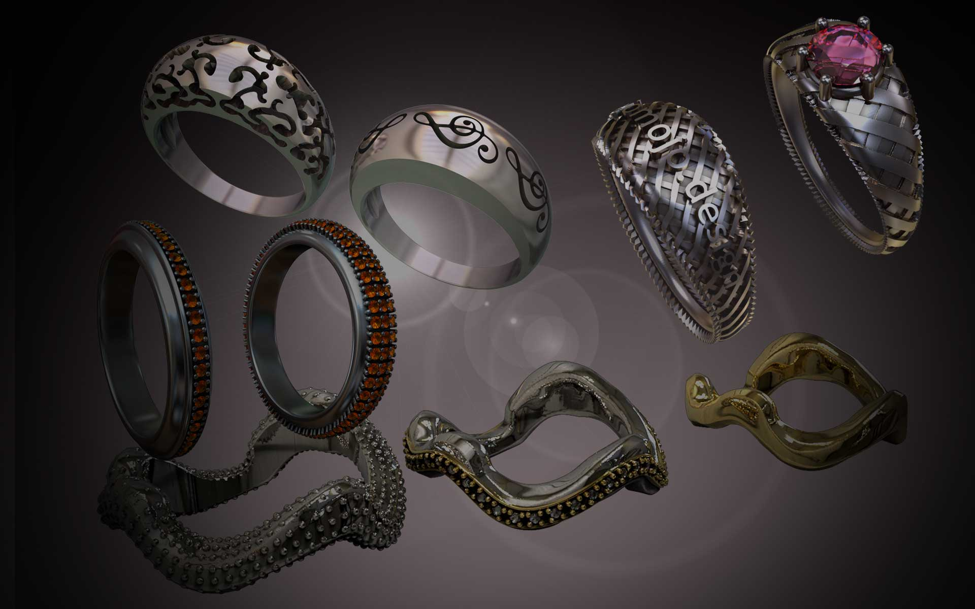 Jewellery Design in ZBrush 2019 Next Generation Techniques