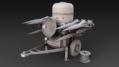 Learn Maya 2018 – High Poly Modelling Rapier Missile System