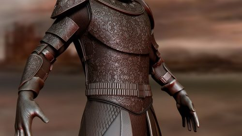 ZBrush 4 R8 Course on Creating Game of Thrones Style Armour!