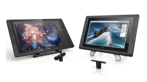 XP-Pen Artist22E Pro 22inch Versus the Wacom 22HD