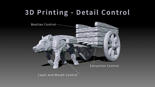 Creating the Goblin War Chariot using ZBrush 3D Printing Design
