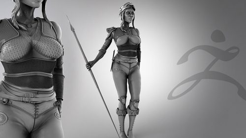 Module 1: ZBrush Detailed Character Creation Course