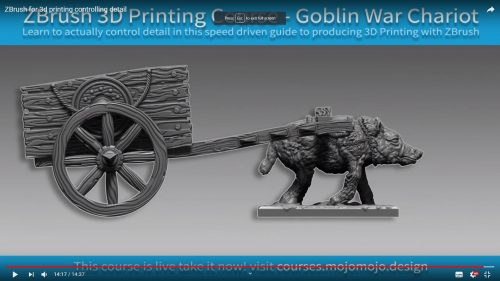 ZBrush for 3d printing controlling detail – Brush depth
