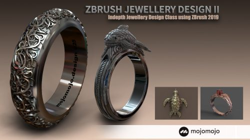 Jewellery Design with ZBrush – Creating Custom Jewellery
