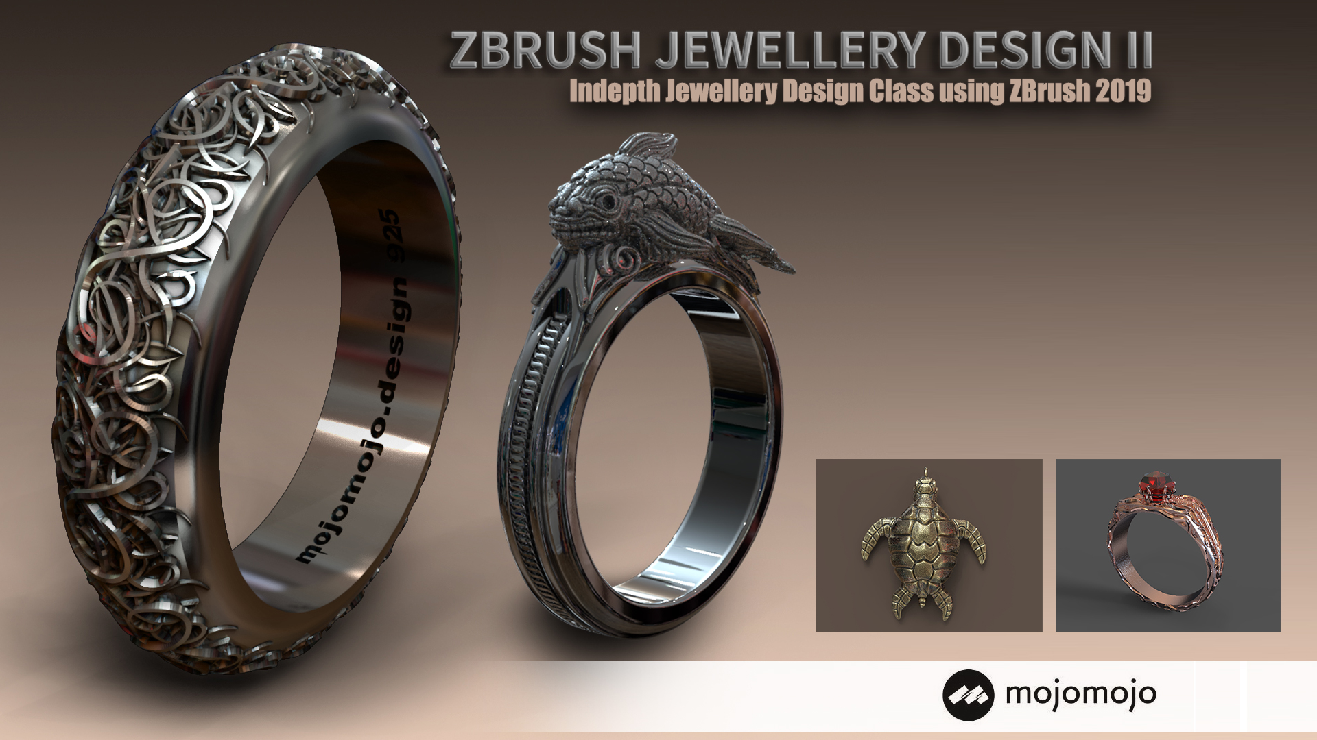 Jewellery Design with ZBrush - Creating Custom Jewellery