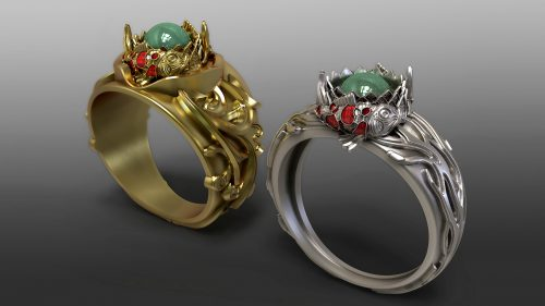 Jewellery Design with ZBrush – Beginners to Advanced ZBrush Users